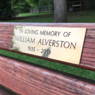 Bench Plaques